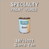 38/15002 Sierra Tan - Tiger - Quart Can