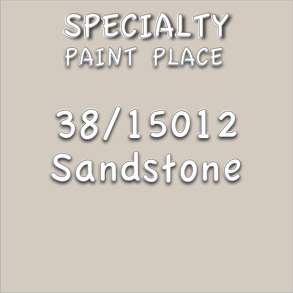38/15012 Sandstone - Tiger - Touchup Paint - 16oz Aerosol Can