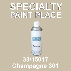 38/15017 Champagne 301 - Tiger 16oz aerosol spray can