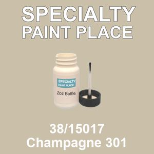 38/15017 Champagne 301 - Tiger 2oz bottle