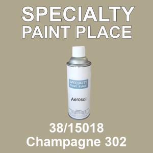 38/15018 Champagne 302 - Tiger 16oz aerosol spray can