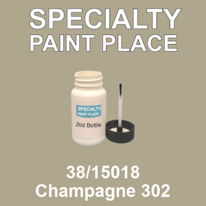 38/15018 Champagne 302 - Tiger 2oz bottle