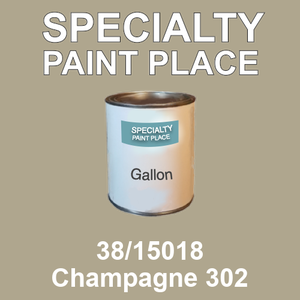 38/15018 Champagne 302 - Tiger gallon