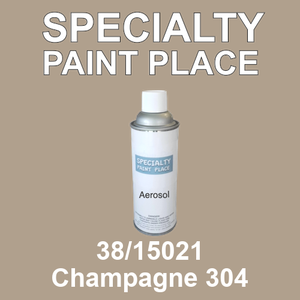 38/15021 Champagne 304 - Tiger 16oz aerosol spray can