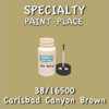 38/16500 Carlsbad Canyon Brown - Tiger - 2oz Bottle with Brush