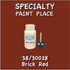 38/30028 Brick Red - Tiger - 2oz Bottle with Brush