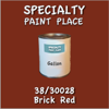 38/30028 Brick Red - Tiger - Gallon Can