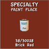38/30028 Brick Red - Tiger - Pint Can