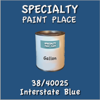 38/40025 Interstate Blue - Tiger - Gallon Can
