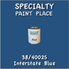 38/40025 Interstate Blue - Tiger - Pint Can