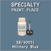 38/40051 Military Blue - Tiger - 2oz Bottle with Brush