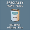 38/40051 Military Blue - Tiger - Gallon Can