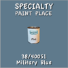 38/40051 Military Blue - Tiger - Pint Can
