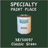 38/50037 Classic Green Gallon Can