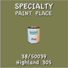 38/50039 Highland 305 - Tiger - Pint Can