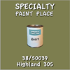 38/50039 Highland 305 - Tiger - Quart Can