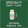 38/50040 Highland 306 - Tiger - 2oz Bottle with Brush