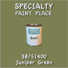 38/51400 Juniper Green - Tiger - Quart Can