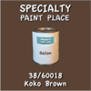 38/60018 Koko Brown - Tiger - Gallon Can