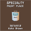 38/60018 Koko Brown - Tiger - Quart Can