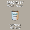 38/70025 Ash Grey - Tiger - Quart Can