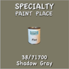 38/71700 Shadow Gray - Tiger - Pint Can