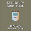 38/71700 Shadow Gray - Tiger - Quart Can