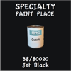 38/80020 Jet Black - Tiger - Quart Can
