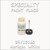 39/10160 Horizon White 2oz Bottle with Brush