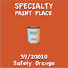 39/20010 Safety Orange Pint Can