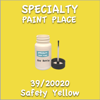 39/20020 Safety Yellow 2oz Bottle with Brush