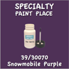 39/30070 Snowmobile Purple 2oz Bottle with Brush