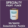 39/30070 Snowmobile Purple Gallon Can