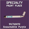 39/30070 Snowmobile Purple Pen