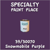 39/30070 Snowmobile Purple Pint Can