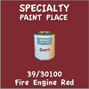 39/30100 Fire Engine Red Quart Can
