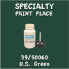 39/50060 U.S. Green 2oz Bottle with Brush