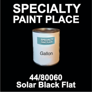 44/80060 Solar Black Flat - tiger - Gallon Can
