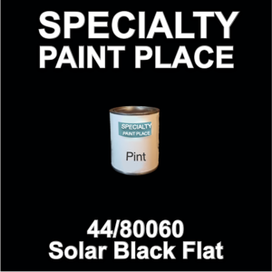 44/80060 Solar Black Flat - tiger - Pint Can