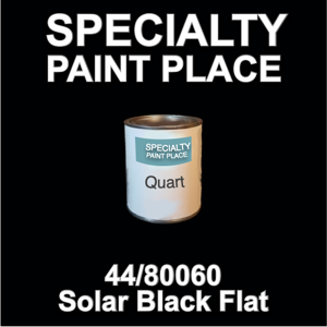 44/80060 Solar Black Flat - tiger - Quart Can