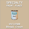 49/10388 Bengal Cream Quart Can