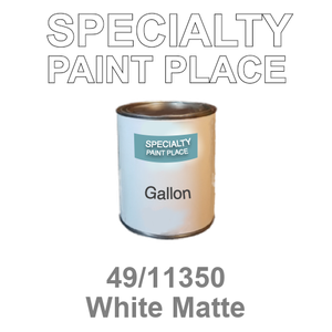 49/11350 White Matte - Tiger gallon