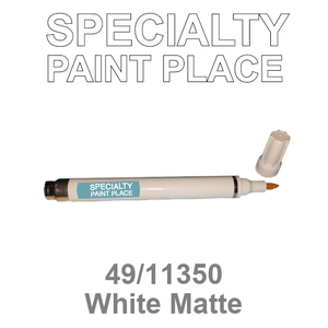 49/11350 White Matte - Tiger pen