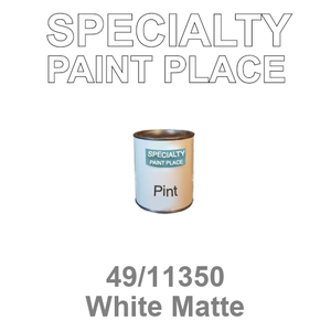 49/11350 White Matte - Tiger pint