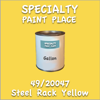 49/20047 Steel Rack Yellow Gallon Can