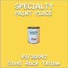 49/20047 Steel Rack Yellow Pint Can