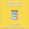 49/20047 Steel Rack Yellow Quart Can