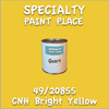 49/20855 CNH Bright Yellow Quart Can