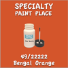 49/22222 Bengal Orange 2oz Bottle with Brush
