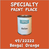 49/22222 Bengal Orange Gallon Can